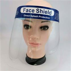 Face Shields FDA Certified Blank in Bulk