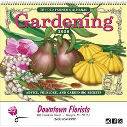 Farmer's Almanac Gardening Calendar