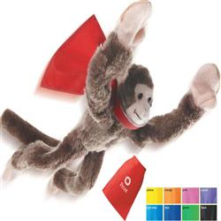 Flying Shreiking Monkeys with Custom Cape Imprint or Logo