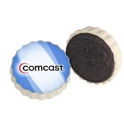 Full Color Custom Oreo Cookie in White Chocolate