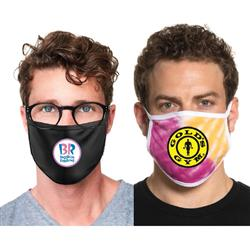 Full Color Custom Face Masks Made in USA in Bulk by Adco Marketing