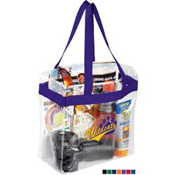 Clear Stadium Tote Bags approved for NFL stadium use in bulk