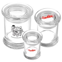 Glass Storage Jar-2.75 ounce customized with your logo