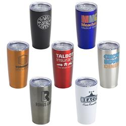 Double Wall Insulated Travel Tumbler or Mug with your promotional logo