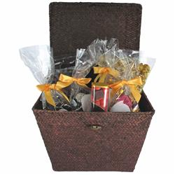 Godiva Gift Basket with a custom hang tag