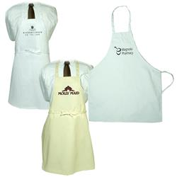 Gourmet Custom Aprons in Light Colors with Pockets
