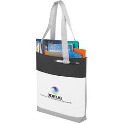 Great White Convention Tote Bag - great for conventions or trade shows