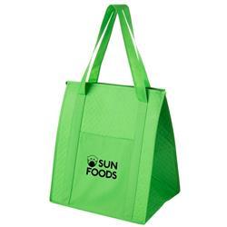 Custom Reusable Grocery Bag Lime