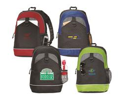 Canyon Custom Backpacks with screen printed logo