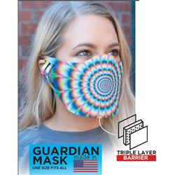 Guardian Full Color Face Masks Custom Printed Made in USA