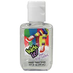 Custom Hand Sanitizer Bottles in 0.5 oz Size, Promotional Hand Sanitizer