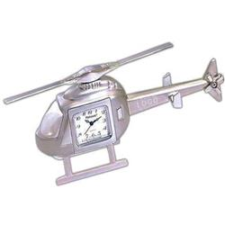 Custom Helicopter Desk Clock