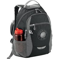 High Sierra Curve Backpack Black Branded