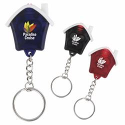 House Flashlight Keychain and Key Light
