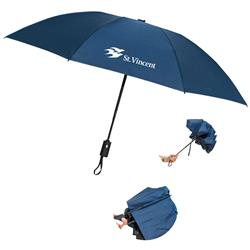 Renegade Inverted Folding Umbrella with Promotinoal Logo