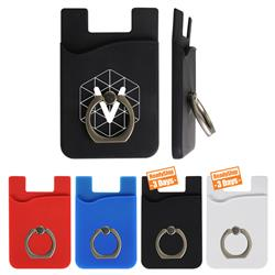 iWalletRing Phone Wallet and Ring for Smart Phones and iPhones Custom Printed
