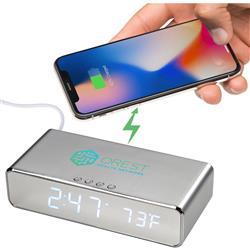 Keen Charging Wireless Desk Clock
