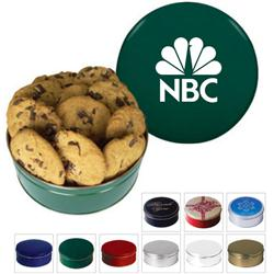 King Size Promotional Cookie Tins and Cookie Gift Tin with Custom Logo