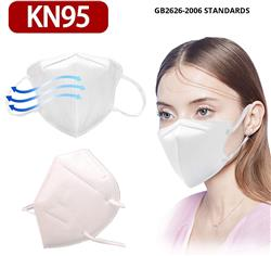 KN95 FFP2 Face Masks Blank Immediate Shipping