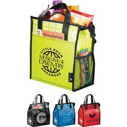 Laminated Promotional Lunch Bags with your company logo!