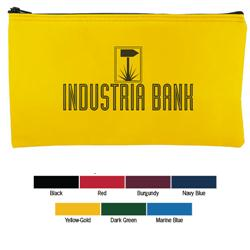 Custom Bank Bags in Laminated Nylon with your promotional logo.