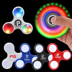 LED Lighted Fidget Spinner customized