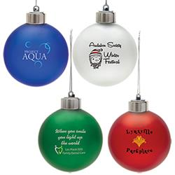 Light-Up Shatterproof Ornament customized with your