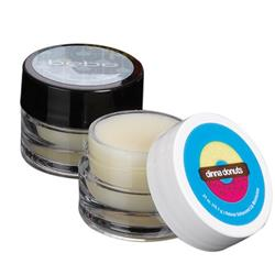 Lip Balm Jars with full color imprint.  Cosmetic container with lip balm.