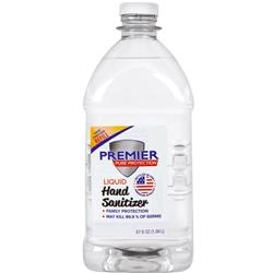 Liquid Hand Sanitizer Refill Bottles in 67 oz size Made in USA