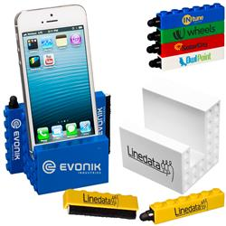Logo-Blox™ Phone Stand  - and accessories for iphones, smart phones and more