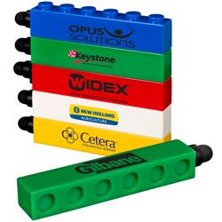 Logo Blox Stylus Pen - a fun building block stylus pen