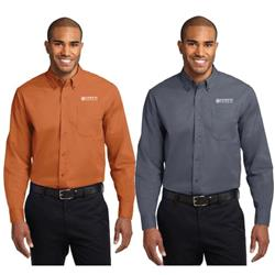 Port Authority® Long Sleeve Easy Care Shirt with Sensys Logo Embroidered