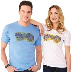 Bodie Tees - a t-shirt with a full color soft imprint