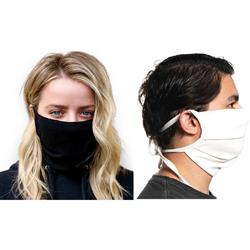 Cotton Face Mask with Ties Made in USA Blank