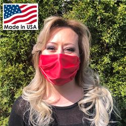 Toddy Gear Microfiber Face Mask with Ear Loops Made in USA