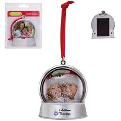 Magnetic Snow Globe Ornament Customized wth Your Logo by Adco Marketing