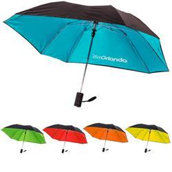 Marquee Double Cover Windproof Auto Open Umbrella - 42 inch Arc