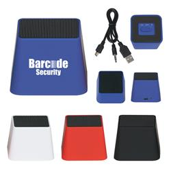 Mini Cube Bluetooth Speaker custom imprinted with your logo