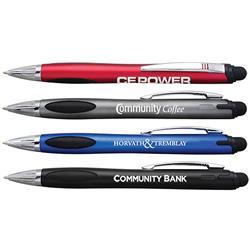 Moisant Stylus Pen with Light Up Logo Engraved