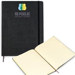 Moleskine® Hard Cover Dotted X-Large Notebook with Custom Cover