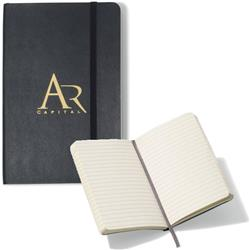 Moleskine® Soft Cover Ruled Pocket Notebook with promotional custom logo
