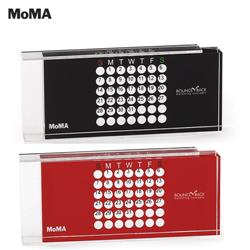 MoMA Perpetual Acrylic Calendar for the desk