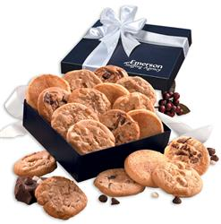 Custom Cookie Box with assortment of cookies with logo on box or ribbon