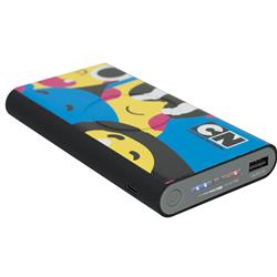 Octoforce 8000mAh Wireless Power Bank with Full Color Imprint by Origaudio