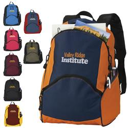 On The Move Promotional Backpacks