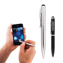 Oxford Mini Dual Ballpoint & Stylus, iPad Touch Pen Engraved