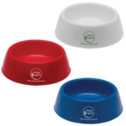 Promotional Pet Bowls, Custom Pet Bowl in Plastic
