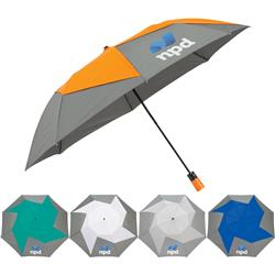 PinWheel Auto Open Custom Vented Umbrella