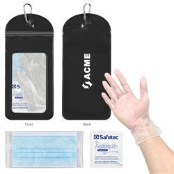 PPE Phone Pouch Value Kit Black