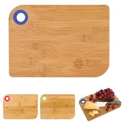 Promotional Bamboo Cutting Boards Laser Engraved Personalization
